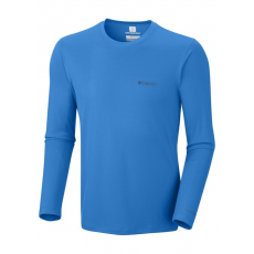 Columbia Zero Rules Long Sleeve Shirt D (AM6083k_431-Hyper Blue) Férfi t-shirt