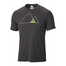 Columbia Zero Rules Short Sleeve Graphic Shirt Sport póló,aláöltöző D (AM6463m_011-Black)