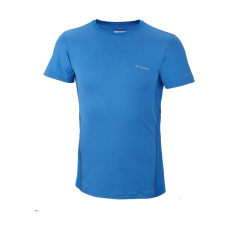 Columbia Men s Coolest Cool Short Sleeve Top D (AM6579m_431-Hyper Blue) Férfi t-shirt