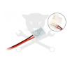 Elmark Betáp csatlakozó kéteres vezetékkel, pattintós - LED szalaghoz ELMARK (99ACC03) villanyszerelés