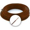 Cable MCU 1.5 (H07V-U) Tömör erezetű Réz Vezeték - Barna