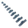Lincos Centírozó súly teherautókhoz, felüthető, 75g, acél felnikhez (TT-7520)