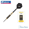 Dart szett Unicorn steel CORE PLUS  21g, black/gold brass