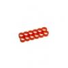 E22 , 12-slot kábelrendezõ piros 4 mm vastag kábelhez