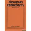 Műszaki Könyvkiadó Óraipari zsebkönyv