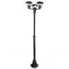 Massive - Philips 15385/30/16 -Kültéri lámpa CREEK 3xE27/60W/230V