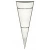 EGLO 87792 - PASCAL 1 fali lámpa 1xE27/100W fehér/rozsdamentes acél