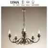 JUPITER LIMA LM 5 függeszték 5xE14/40W