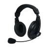 Vakoss MSONIC sztereó mikrofonos fejhallgató hangerőszabályzóval
