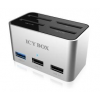 RaidSonic Icy Box Docking Station + 4bay cardreader SD (2x USB 3.0, 2x USB 2.0)