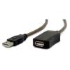 Gembird USB 2.0 aktív hosszabbító kábel, 10m