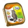 Dax 100 g alutálcás konzerv cicáknak csirkés