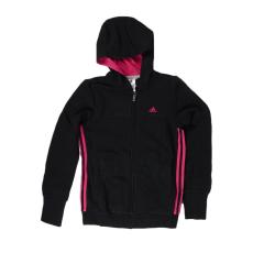 Adidas PERFORMANCE YG ESS S FZ HD kamasz lány végigzippes pulóver