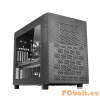 "Thermaltake Core X2 Window Black Black,3x5,25"",4x3,5"",microATX,Window,Audio,Táp nélkül,465x320x541mm,3x2,5"",2xUSB3.0"