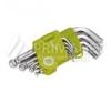 Extol Craft imbuszkulcs készlet, gömbfej végű 1,5-10 mm, 9 db (66000) villáskulcs