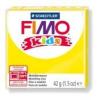 Gyurma, 42 g, égethető, FIMO Kids, sárga