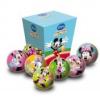 Disney Minnie egér labda, 6 cm