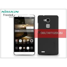 Nillkin Huawei Ascend Mate 7 hátlap képernyővédő fóliával - Nillkin Frosted Shield - fekete tok és táska