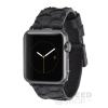 CASE-MATE Scaled Apple Watch 38mm bőrszíj, fekete