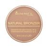 Rimmel London Natural Bronzer Waterproof Bronzing Powder SPF15 Női dekoratív kozmetikum 021 Sun Light Smink 14g