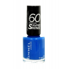 Rimmel London 60 Seconds Super Shine Nail Polish Női dekoratív kozmetikum 407 Hot Tropicana Körömlakk 8ml