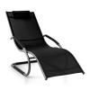Blumfeldt Sunwave, fekete, kerti ágy, ágy, hintaágy, relax, alumínium