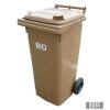Kültéri, bio hulladéktároló edény, kuka szellőző nyílásokkal 120 l /240 l 0004-5Bio-0005-5Bio
