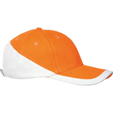 KARIBAN sapka, U, narancs/fehér (Kariban sapka, U, narancs/fehér)