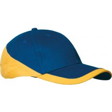 KARIBAN sapka, U, royalblue/yellow (Kariban sapka, U, royalblue/yellow)