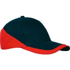 KARIBAN sapka, U, sötétkék/piros (Kariban sapka, U, sötétkék/piros)