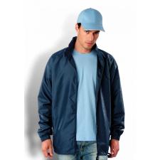 KARIBAN kapucnis széldzseki, sötétkék (Kariban kapucnis széldzseki, sötétkék) férfi kabát, dzseki