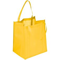 Praktikus bevásárló táska, sárga