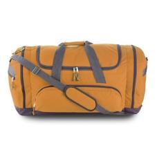 Sport, utazótáska cipzáras, narancs (Utazótáska nagy cipzárral, oldal- és elsõ zsebbel. 600D)