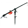 Hensel Superboom length: 270 cm, O 35 mm, complete with Remote Control, Steel Stand with wheels...
