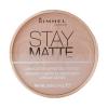 Rimmel London Stay Matte Long Lasting Pressed Powder Női dekoratív kozmetikum 007 Mohair Smink 14g