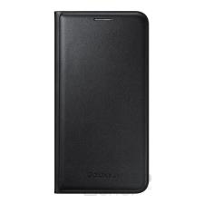Samsung Galaxy J5 gyári flip tok, fekete, EF-WJ500BB, (SM-J500) tok és táska