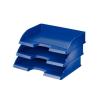 Irattálca, műanyag, oldalt nyitott, LEITZ Plus, kék
