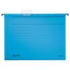 Leitz Függőmappa, karton, A4, LEITZ, Alpha Standard, kék 25db/csom