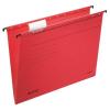 Leitz Függőmappa, karton, A4, LEITZ, Alpha Standard, piros 25db/csom