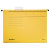 Leitz Függőmappa, karton, A4, LEITZ, Alpha Standard, sárga 25db/csom