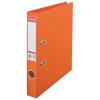 ESSELTE Iratrendező, 50 mm, A4, PP/PP, élvédő sínnel, ESSELTE Standard, narancssárga
