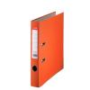 Iratrendező, 50 mm, A4, PP/karton, élvédő sínnel, ESSELTE Economy, narancssárga