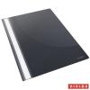 Gyorsfűző, PP, A4, ESSELTE Standard, fekete 25db/csomag