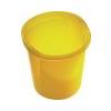 HELIT Szemetes, 13 liter, HELIT Economy, áttetszõ sárga