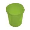 HELIT Szemetes, 13 liter, HELIT Economy, áttetszõ zöld