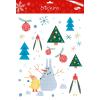 Maildor Stickino Karácsony ablakmatricák - Hóember