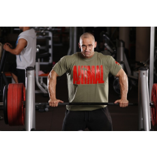 Universal Nutrition Animal T-Shirt Khaki - Red