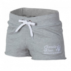 Gorilla Wear Women's New Jersey Sweat Shorts Grey
