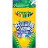 Crayola extra kimosható 8 db Filctoll vékony