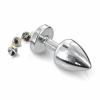 DIOGOL Anni - díszes análkúp - ezüst (2,5cm)